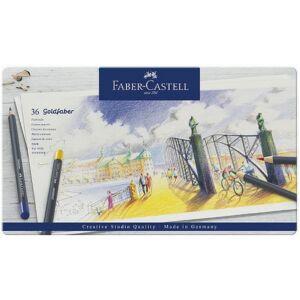 Faber-Castell művészceruza 36db AG-ceruza Goldfaber fém dobozban 114736