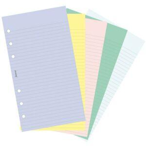Filofax határidőnapló pótlap Jegyzetlapok vonalas és üres vegyes szí