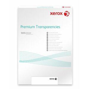 Írásvetítő fólia A4 XEROX színes lézernyomtatóba, víztiszta 50lap Prezentáció XEROX 003R98205