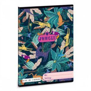 Füzet 12-32 A5 vonalas Ars Una Jungle (5062) 21 3.osztályos prémium minőségű füzet