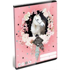Füzet 12-32 A5 vonalas Lizzy Wild Beauty-Rose 21' Lizzy kollekció