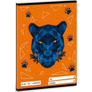 Füzet 14-32 A5 vonalas Ars Una Black Panther (5082) 21 1.osztályos prémium minőségű füzet
