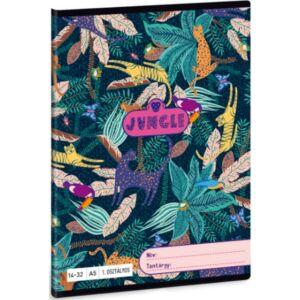 Füzet 14-32 A5 vonalas Ars Una Jungle (5062) 21 1.osztályos prémium minőségű füzet