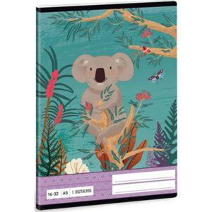 Füzet 14-32 A5 vonalas Ars Una Kirra Koala (5044) 21 1.osztályos prémium minőségű füzet