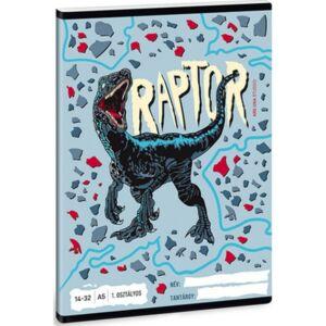 Füzet 14-32 A5 vonalas Ars Una Raptor (5087) 21 1.osztályos prémium minőségű füzet