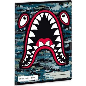 Füzet 20-32 A5 sima Ars Una 20 Flying Shark prémium minőségű termék