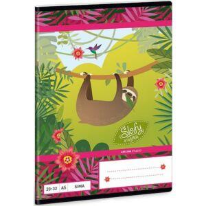 Füzet 20-32 A5 sima Ars Una Slofy - Lajháros 19 prémium minőségű termék