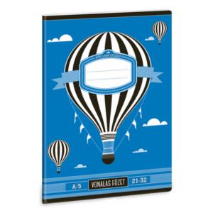 Füzet 21-32 A5 vonalas Ars Una füzet design 18' 4-től 8.osztályig prémium minőség