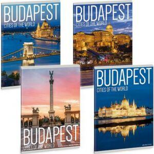 Füzet 21-40 A5 vonalas Ars Una City of Budapest - Budapest 19 4-től 8.osztályig prémium minőség