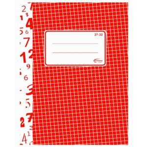 Füzet 27-32 A5 kockás hagyományos 32lapos