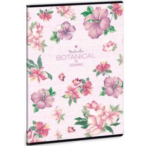 Füzet 80-40 A4 sima Ars Una Botanic Mallow 40lap 20' Premium extra kapcsos