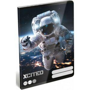 Füzet 21-32 A5 vonalas LIZZY XCITED - sport Space 19