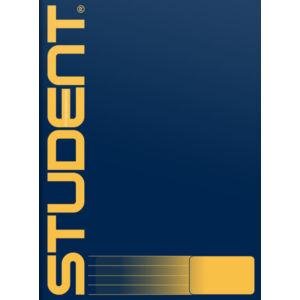 Füzet tűzött 81-32 A4 Student vonalas iskolai füzet 80grm papírból