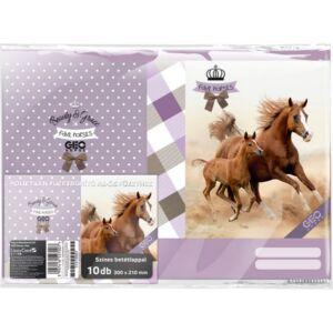 Füzetborító A5 Geo Horse Geo Horse Two darabra Lizzy kollekció 18