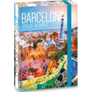 Füzetbox A4 Ars Una 20' Cities of the world Barcelona iskolaszezonos füzet, könyv tárolók