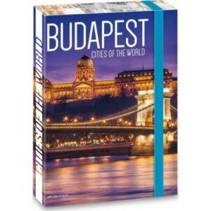 Füzetbox A4 Budapest 20' Budapest - Ars Una iskolaszezonos füzet, könyv tárolók