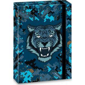 Füzetbox A4 tigris 20' Roar Of The Tiger - Ars Una iskolaszezonos füzet, könyv tárolók