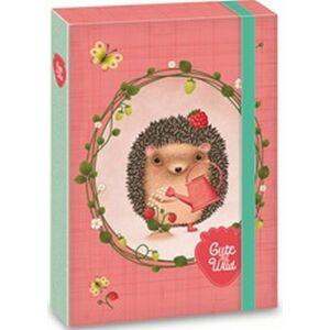 FüzetboxA5 gumis sünis Cuki és Vad Cute and Wild sünis 18' Ars Una dosszié kollekció