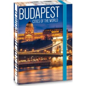 Füzetbox A5 Ars Una Cities of the world Budapest (857) 18