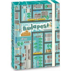 Füzetbox A5 city 19' City of Budapest - Budapest 19' Ars Una iskolaszezonos füzet, könyv tárolók