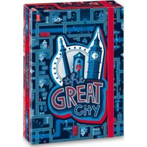 FüzetboxA5 gumis The Great City - Város 19' Ars Una dosszié kollekció