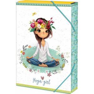 Füzetbox A/5 Yoga Girl
