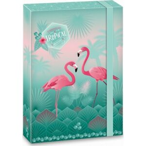 Füzetbox gumis A4 Flamingó Pink Flamingós (868) 18 Ars Una dosszié kollekció