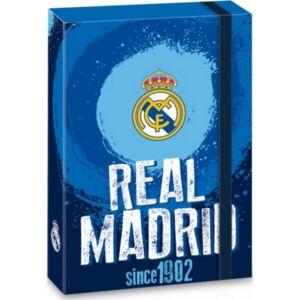 Füzetbox gumis A4 Real Madrid Focis dosszié kollekció