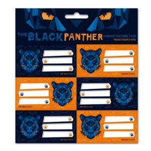 Füzetcímke 3x6db Ars Una Black Panther (5082) 21 Csomagolt kollekció