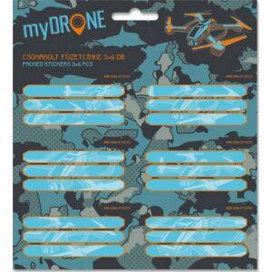 Füzetcímke Ars Una My Drone (892) Drón 19 csomagolt kollekció