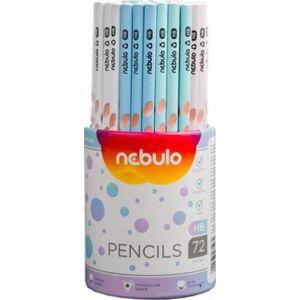 Grafitceruza HB Nebulo vegyes színek(nem választható!)