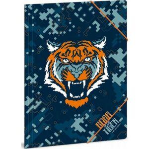Gumis mappa A4 tigris 20' Ars Una Roar Of The Tiger - Ars Una iskolaszezonos gumis dosszié kollekció
