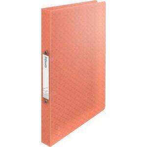 Gyűrűskönyv 25mm Esselte 2 gyűrű A4, PP Colour`Ice, barack Iratrendezés, archiválás
