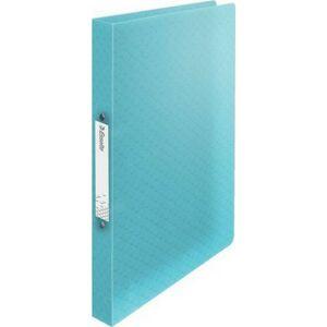 Gyűrűskönyv 25mm Esselte 2 gyűrű A4, PP Colour`Ice, kék Iratrendezés, archiválás