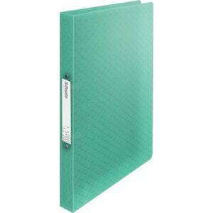 Gyűrűskönyv 25mm Esselte 2 gyűrű A4, PP Colour`Ice, zöld Iratrendezés, archiválás