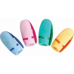 Hegyező 1lyukú Optima KOVPACHOK kézi hegyező, csiptetős iskolaszezonos termék v.élénk szín