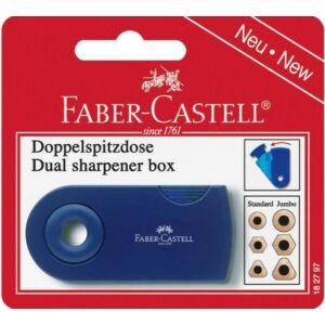 Faber-Castell hegyező 2lyukú műanyag dupla tartály prémium minőségű termék 182797