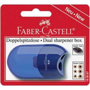 Faber-Castell hegyező 2lyukú műanyag dupla tartály prémium minőségű termék 183597