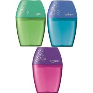 Hegyező 1lyukú Maped Shaker tartályos vegyes színek Írószerek Maped 634754