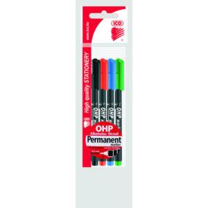ICO OHP marker F 4db permanent alkoholos marker 0,5mm alkoholos filc