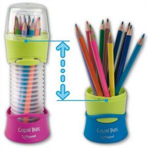 Színes ceruza 12 Maped Color'Peps háromszögletű 6színű Írószerek MAPED 683212