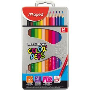 Színes ceruza 12 Maped Color'Peps háromszögletű 12színű Írószerek MAPED 832014