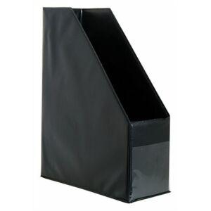 Iratpapucs PVC/karton Victoria 95mm fekete Iratrendezés Victoria