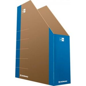 Iratpapucs karton Donau Life 80mm összehajtható neon kék Iratrendezés DONAU 3550001FSC-10