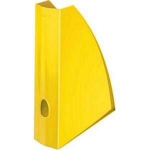 Iratpapucs műanyag Leitz 60 mm, elöl nyitott Wow, sárga Iratrendezés, archiválás