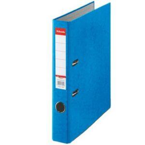 Iratrendező 50mm Esselte A4, karton Rainbow, kék