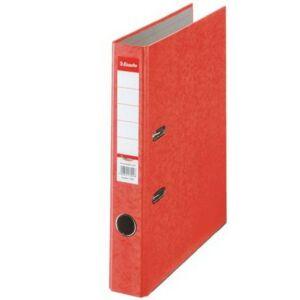 Iratrendező 50mm Esselte A4, karton Rainbow, piros
