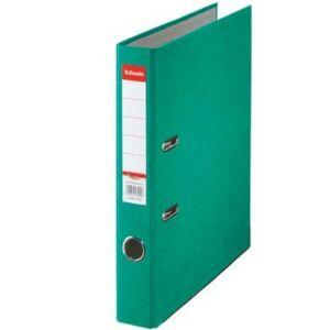 Iratrendező 50mm Esselte A4, karton Rainbow, zöld