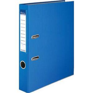 Iratrendező 50mm A4 Victoria Basic élvédős PP/karton kék Iratrendezés Victoria 50BLUE