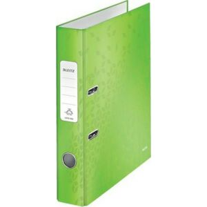 Iratrendező 52mm Leitz A4, karton, Wow, zöld Iratrendezés, archiválás